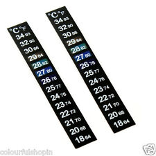 Imported! 1 +1 Fish Aqurium Sticker Thermometer suitable to All Fish Tank