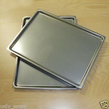Swedish Army Steel Oven Tray / Serving Tray Food Tray Field Kitchen Surplus
