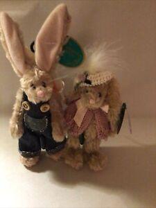 Bearington Bear Easter Bunnies, Billy and Francis