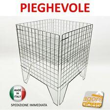 BANCARELLA PIEGHEVOLE 60x60 ESPOSITORE CESTA CESTONE CON RIPIANO MOBILE X NEGOZI