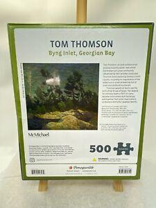 "Tom Thomson Pomegranate 500 pc Art Puzzle Bying Inlet Georgian Bay 20x20"" NIB"