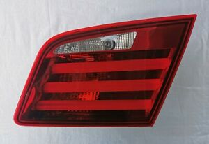 BMW 5 SERIES SEDAN F10 RIGHT PASSENGER SIDE TRUNK INNER REAR TAIL LIGHT 7203226