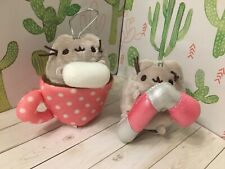 pusheen hot cocoa candy cane blind box ornaments