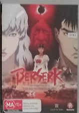 Berserk: The Golden Age Arc II - The Battle for Doldrey (2013) DVD R4 Australian