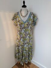 Stunning EAST lifestyle hand blocked made in India long dress UK size 16