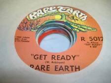 Rock 45 RARE EARTH Get Ready / Magic Key on Rare Earth 7