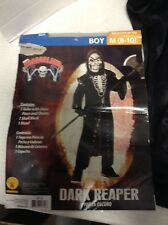 Kids Boys Med 8-10 Rubies Horrorland Dark Reaper Halloween Scary Creepy Costume