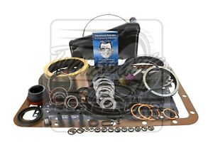 Fits Ford E4OD E40D Transmission Deluxe Rebuild Kit 89-95 Level 2 + Transgo 4WD