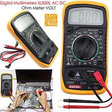 New LCD Digital Multimeter Voltmeter AC DC Voltage Tester Circuit Checker Buzzer