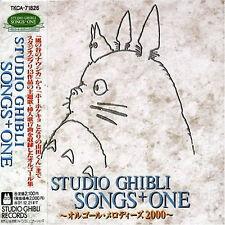 ANIME manga SOUNDTRACK CD Studio Ghibli Hayao Miyazaki totoro Songs +1