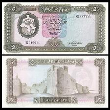 Libya Lybien 5 Dinars, ND(1972), P-36b, banknote, UNC