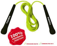 Toorx Corda Salto Veloce in PVC Corde per saltare Fitness Velocità Boxe Kick