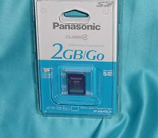 """Panasonic RP-SDM02G  2GB SD Memory Card """"New Factory Sealed – GREAT FIND SALE!"""""""
