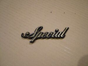 YAMAHA XV750 SPECIAL, '81-'83, CAST REPRODUCTION  SIDE COVER BADGE.