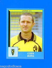 FOOTBALL 2000 BELGIO Panini-Figurina -Sticker n. 222 - BURG - LIERSE SV -New