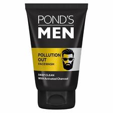 Pond's Men Pollution Out Activated Charcoal Deep Clean Facewash, 100 gm