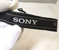 Sony Alpha α 6000 5300 Camera Neck Strap ILCE NEX Black White Free Shipping USA
