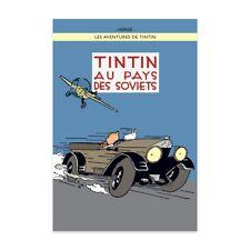 Affiche Offset Tintin Tintin au pays des Soviets (version colorisée)