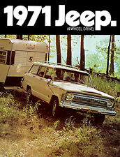 1971 Jeep Wagoneer - Promotional Advertising Poster