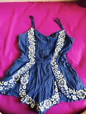 Women jumpsuit dress-forever 21 in excellent condition-size S- for summer
