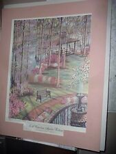 Ronald Williams Painting Print Art, 1992 N.C Azalea Festival  #99 of 1000 signed