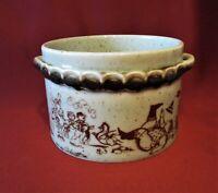 Rosenthal Keramik - Björn Wiinblad - Schüssel, Topf mit Henkel H. 10 cm, D 14 cm