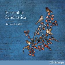 Anonymus / Ensemble Scholastica - Ars elaboratio [New CD]