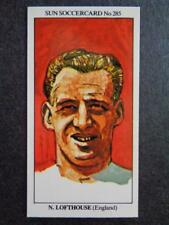 LE SOLEIL soccercards 1978-79 - NAT LOFTHOUSE - ANGLETERRE #285