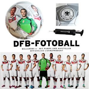 Fussball WM 2014 Original Lizenz DFB-Fotoball Weltmeister Ballpumpe NEU Sammler