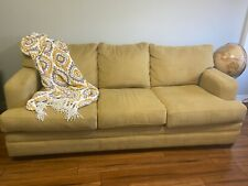 Living Room Sofa - Mustard