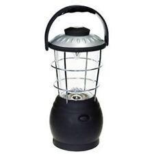 12 LED wind up lantern camping camp work lamp torch light  DIY emergency dynamo