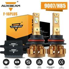 AUXBEAM 9007 HB5 LED Canbus Headlight Bulbs Conversion Kit High Low Beam 6K