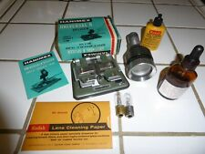 Bell & Howell 16mm Projector Lens, Hamimex Splicer, Projector Lamp, Belt & More