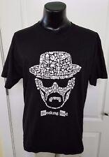 Breaking Bad TShirt Shirt Black Graphic Heisenberg Walter White Mens Large Rare