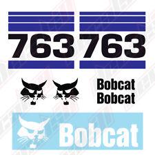 Bobcat 763 Skid Steer Set Vinyl Decal Sticker - Aftermarket