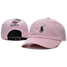Polo Cap Baseball Strap Sun Pony Schwarz Verstellbare Hut Unisex Männer Frauen