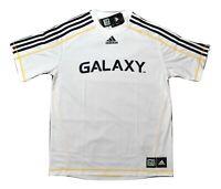adidas MLS Mens Los Angeles Galaxy Climalite Soccer Jersey NWT S, M, L, XL, 2XL