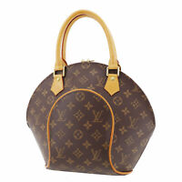 LOUIS VUITTON Ellipse PM Hand Bag Brown Monogram M51127 France Authentic #SS217