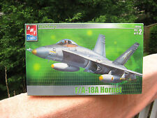 AMT ERTL F/A 18A Hornet 1:48 Scale Military Plane Model Kit~New & Sealed!