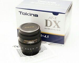 Tokina AT-X 10-17mm f/3.5-4.5 DX for Nikon MINT