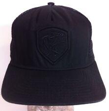 Crooks & Castles los scandalous Adj Mesh Baseball Hat Cap Snapback Black
