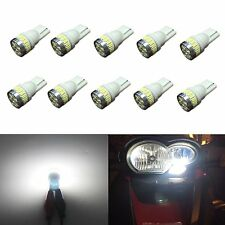 JDM ASTAR 10x T10 White 24-SMD LED Map Dome Lights Bulb 194 168 175 W5W 2825 192