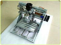 DIY Mini CNC 3-Axis Router Engraver Carving Machine for PCB PVC Milling Wood US
