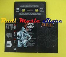 MC MEGA EROTIC HITS MEH compilation 1991 LILLOU LASER MAD DONNA no cd lp dvd vhs