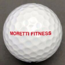 Moretti Fitness Logo Golf Ball (1) Nike RZN Red Preowned