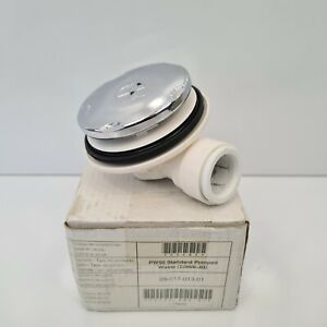 AKW 22mm PW50 50mm Standard Pumped Shower Waste 25405 Chrome Finish