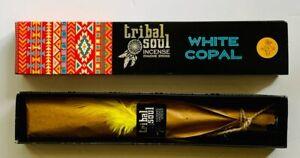 Tribal Soul White Copal Incense Sticks 15g Genuine