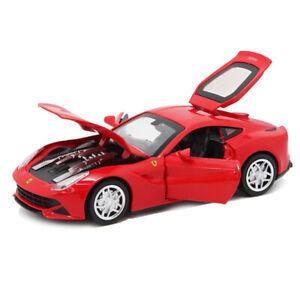 1/32 Scale Ferrari F12 Berlinetta Die-cast Model Car Toy Collection Sound Light