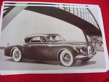 1952 CHRYSLER K310 SHOW CAR CONCEPT CAR   BIG 11 X 17  PHOTO   PICTURE