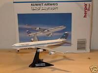 Herpa Wings A340-300 Kuwait Airways mit Stand - 504577 - 1:500